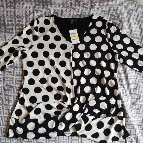 Alfani Tops - Alfani quarter sleeve women's blouse